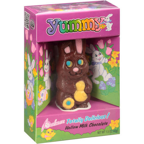 Palmer Hollow Milk Chocolate Easter Bunny, 1.5 Oz.