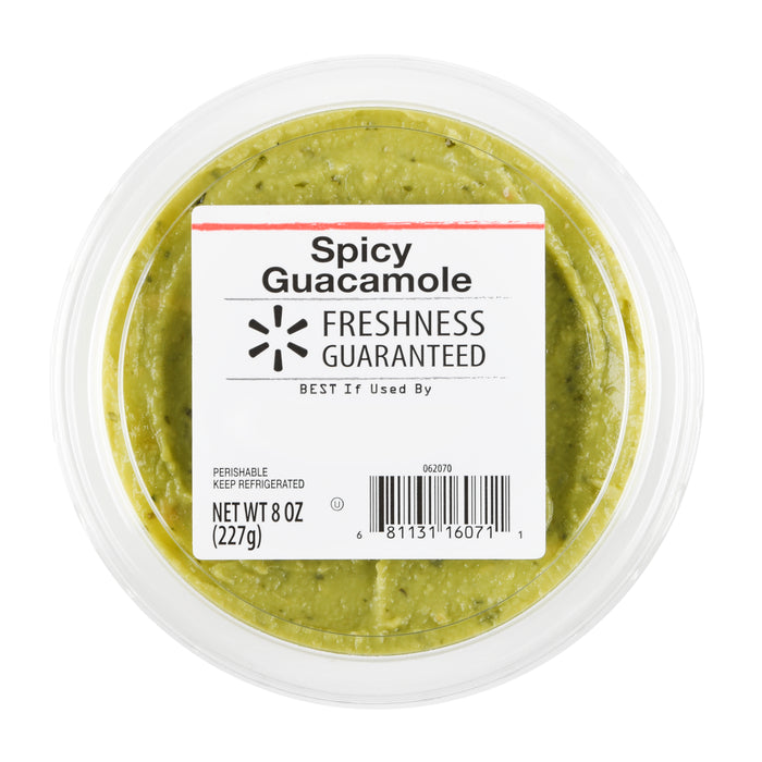 Freshness Guaranteed Guacamole, Spicy, 8 oz
