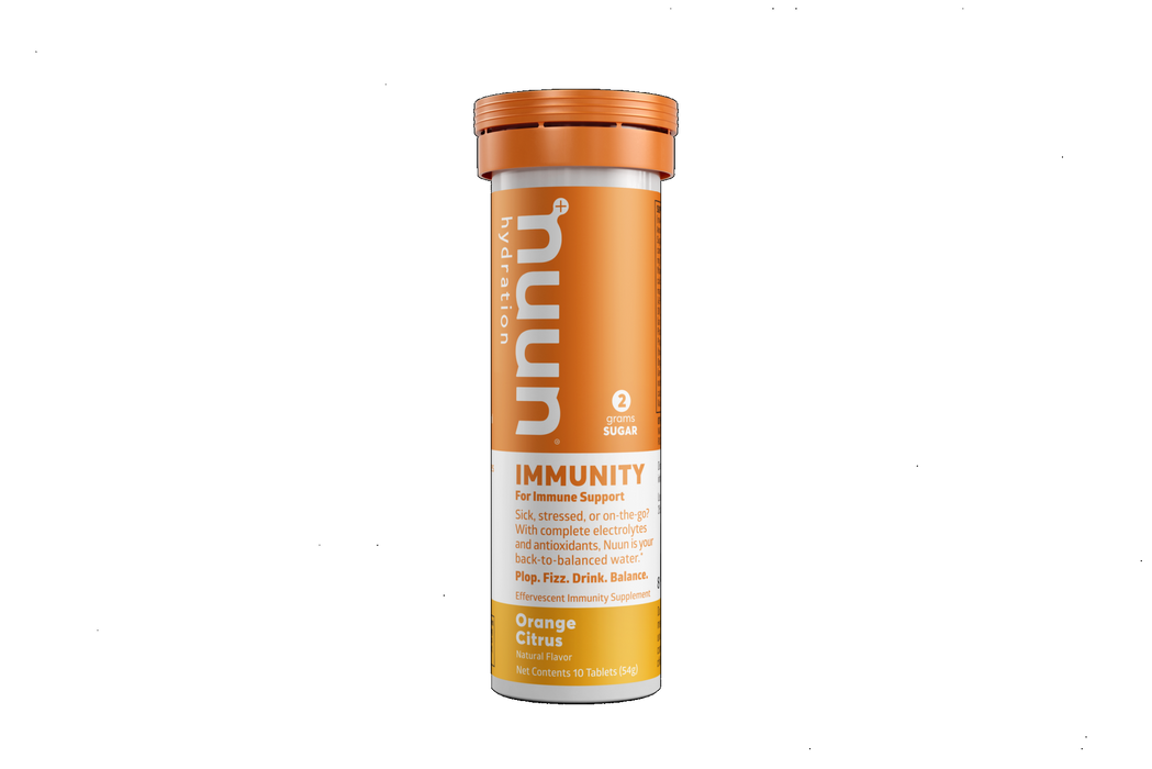 Nuun Energy Immunity Tablets - Single Tube of 10 - Orange Citrus - 315145