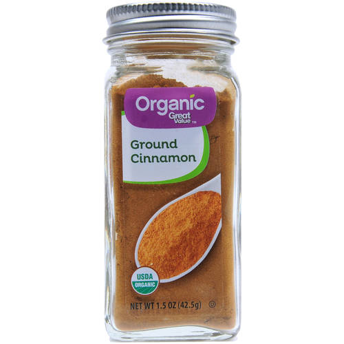 Great Value Organic Ground Cinnamon, 1.5 oz