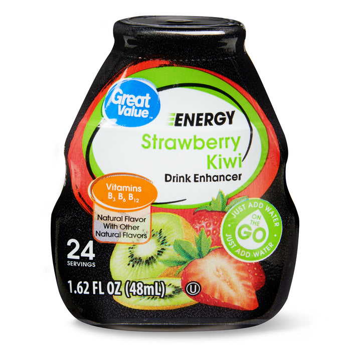 Great Value Strawberry Kiwi Drink Mix, 1.62 Fl. Oz.