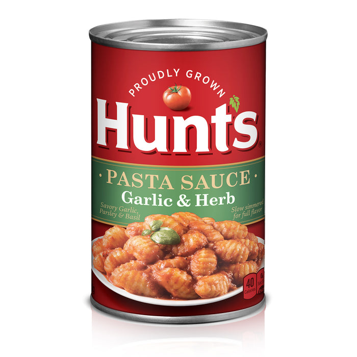 Hunt's Garlic & Herb Pasta Sauce, 24 oz