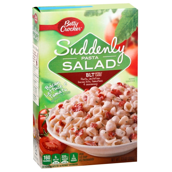 Betty Crocker Belt Suddenly Pasta Salad, 7.3 oz Box