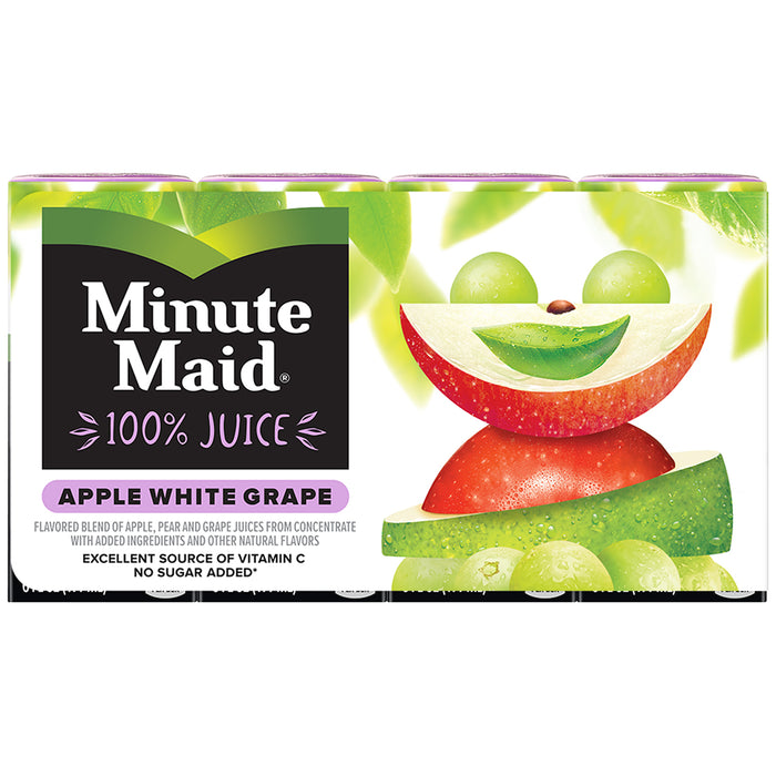 Minute Maid Apple White G