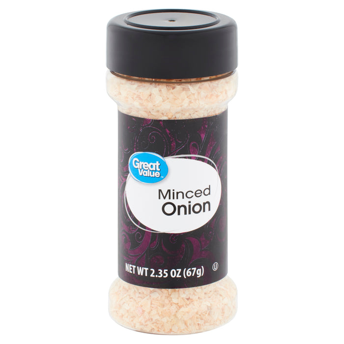 Great Value Minced Onion, 2.35 oz