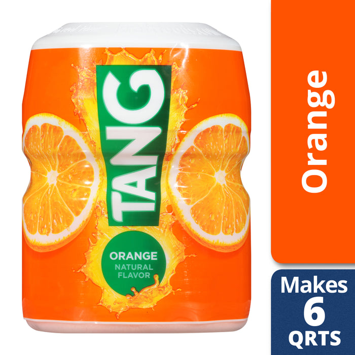 Tang Drink Powder, Orange, Caffeine Free, 20 oz Jar