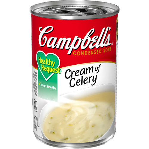 Campbell's Condensed Healthy Request Cream of Celery Soup, 10.5 oz. Can