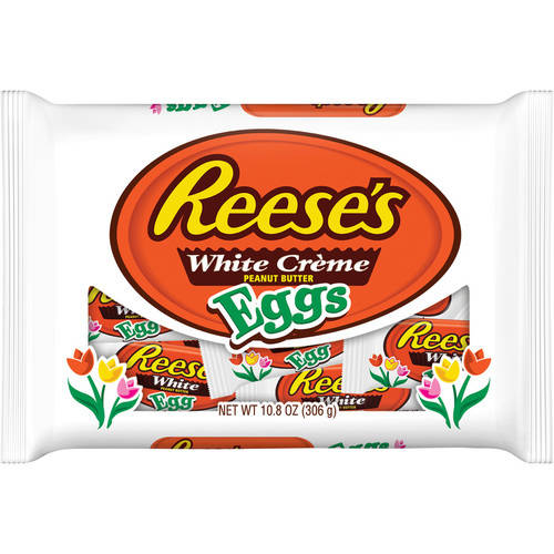 Reese's, White Creme and Peanut Butter Candy Eggs, 10.8 Oz.