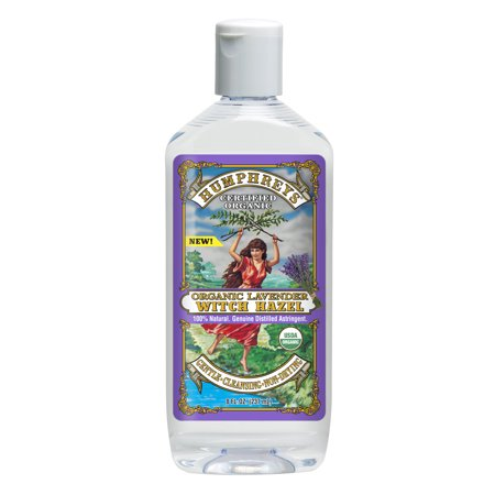 Humphreys Organic Lavender Witch Hazel, 8 oz.