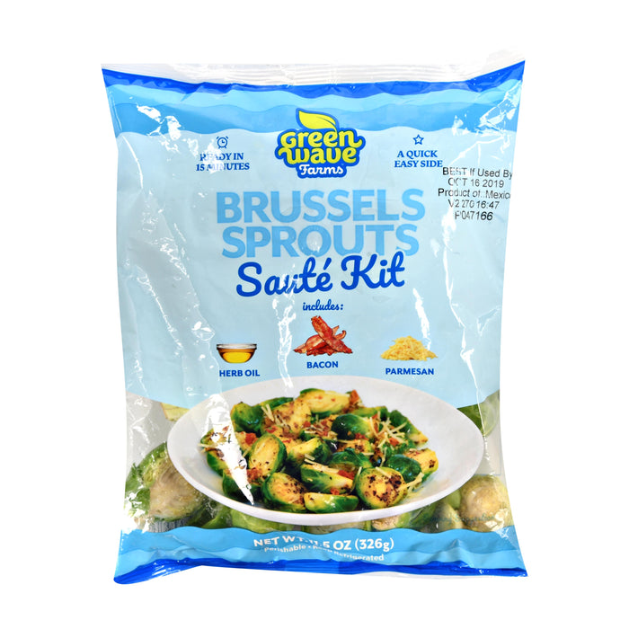 Brussels Sprouts Saute Kit