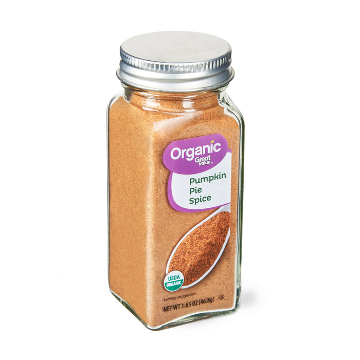 Great Value Organic Pumpkin Pie Spice, 1.65 oz