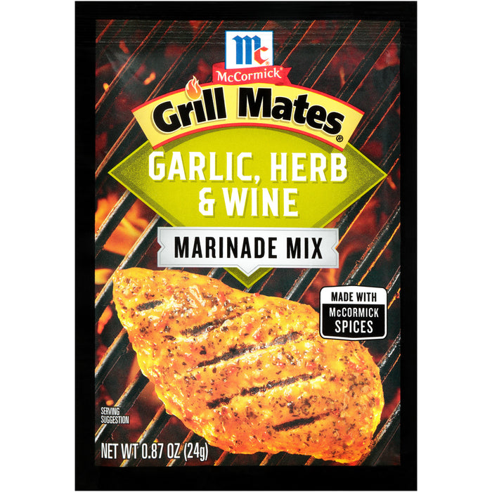 McCormick Grill Mates Garlic, Herb & Wine Marinade Mix, 0.87 oz