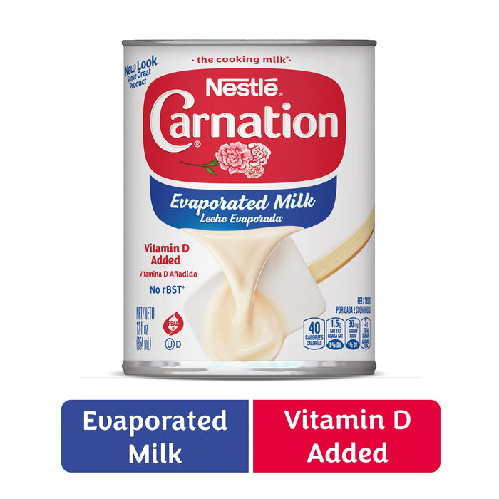 Nestle Carnation Vitamin D Added Evaporated Milk 12 fl. oz. Can