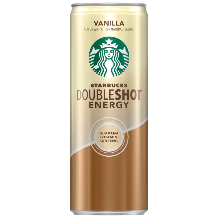 Starbucks Doubleshot Energy Vanilla Flavor Coffee Drink, 11 Fl. Oz Can (4-pack)