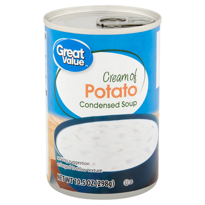 Great Value Cream of Potato Condensed Soup, 10.5 oz