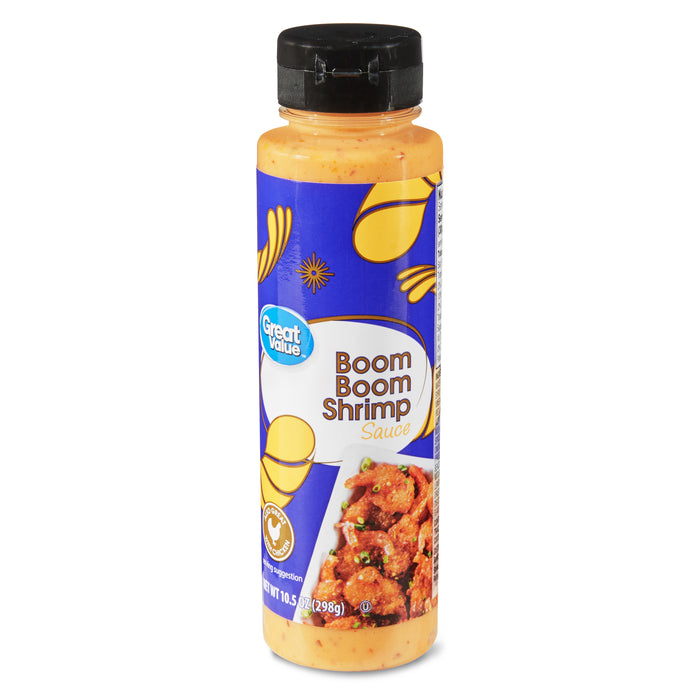 Great Value Boom Boom Shrimp Sauce, 10.5 oz