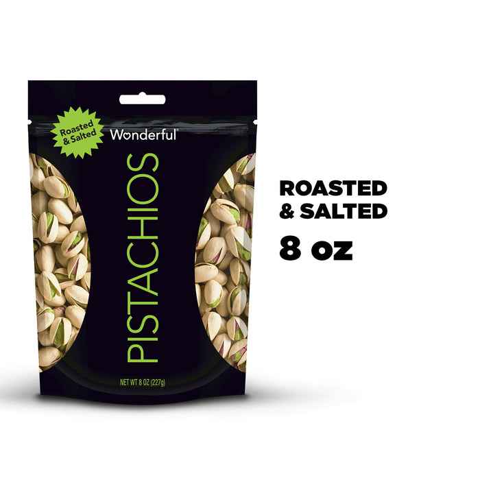 Wonderful Pistachios Roasted & Salted Pistachios, 8 Oz.