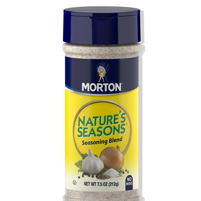 Morton Natures Seasons Seasoning Blend, 7.5 Oz. Canister