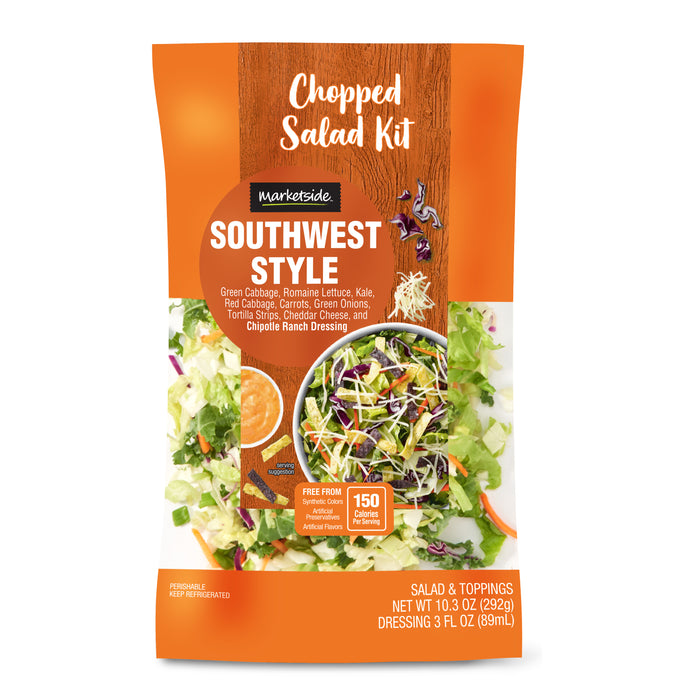 Marketside Southwest Chopped Salad Kit, 10.3 oz