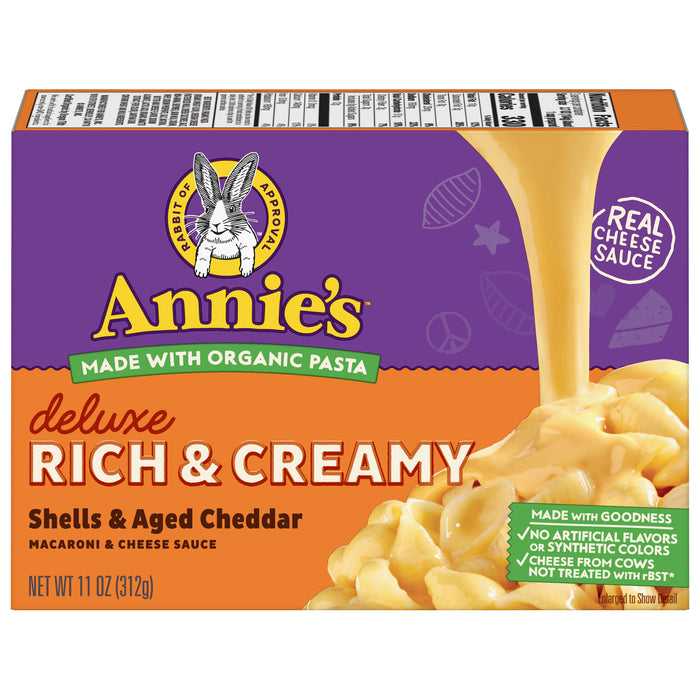 Annie's Shells & Aged Cheddar Mac & Cheese, 11 oz