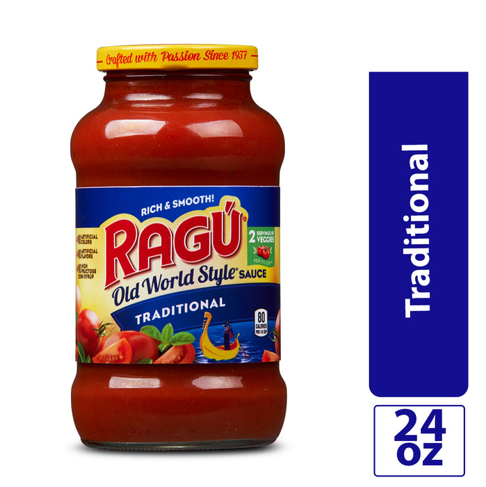 Ragú Old World Style® Traditional Sauce, 24 oz.