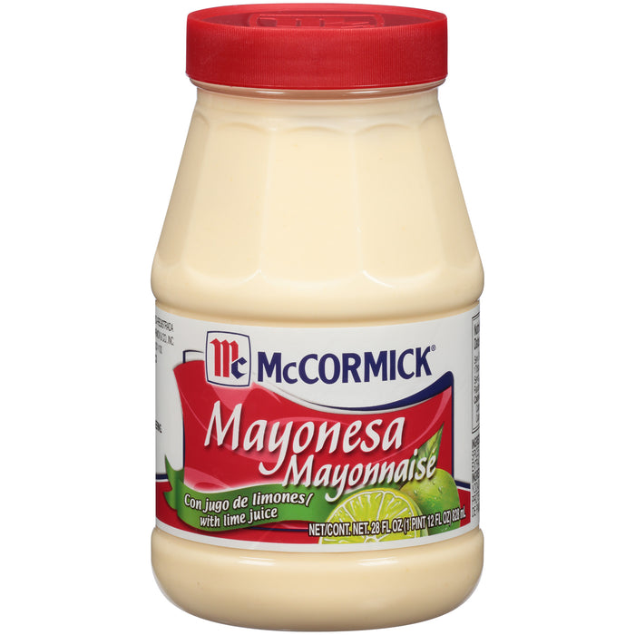 McCormick Mayonesa (Mayonnaise) With Lime Juice, 28 fl oz