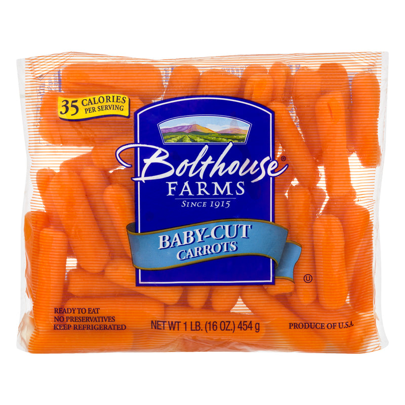 Bolthouse Farms Peeled Baby Cut Carrots, 1 lb Bag
