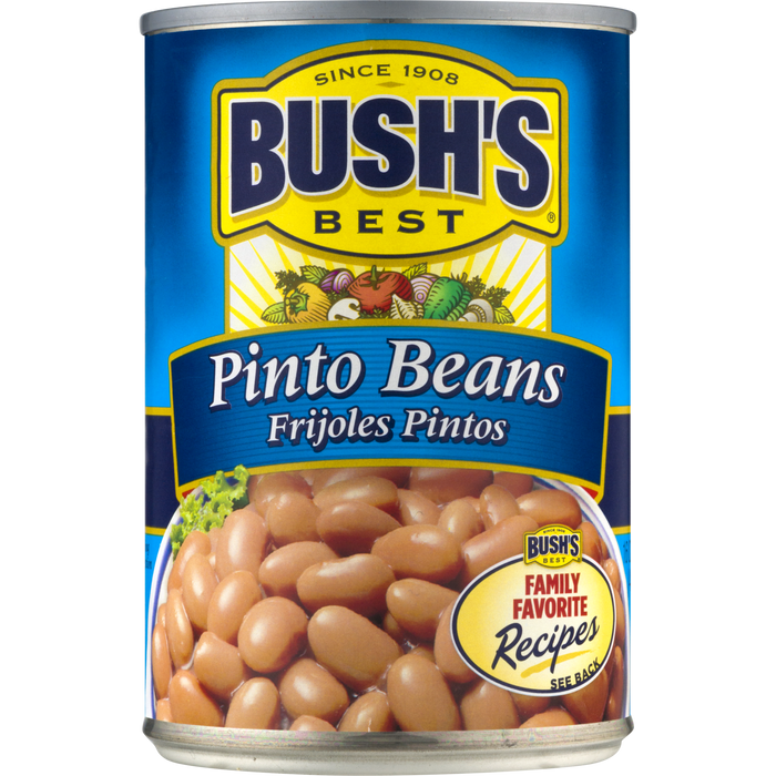 BUSH'S Pinto Beans, 16 oz Canned Beans