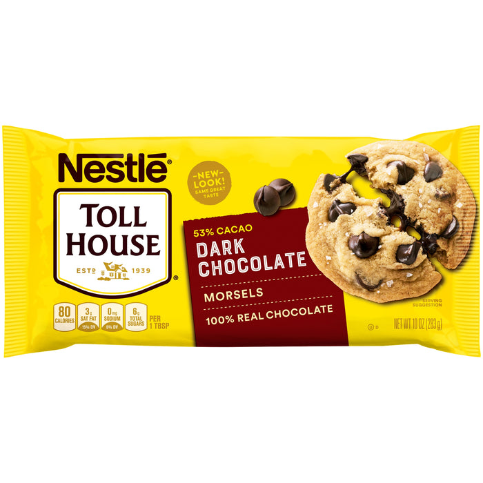 Nestle Toll House Dark Chocolate Chip Morsels 10 Oz. Bag