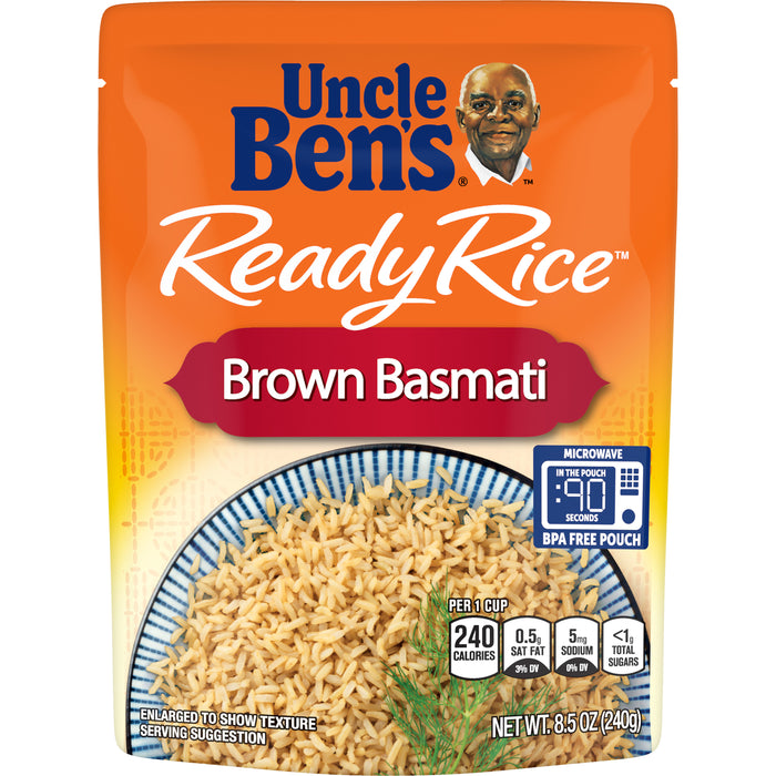 UNCLE BEN'S Ready Rice: Brown Basmati, 8.5oz