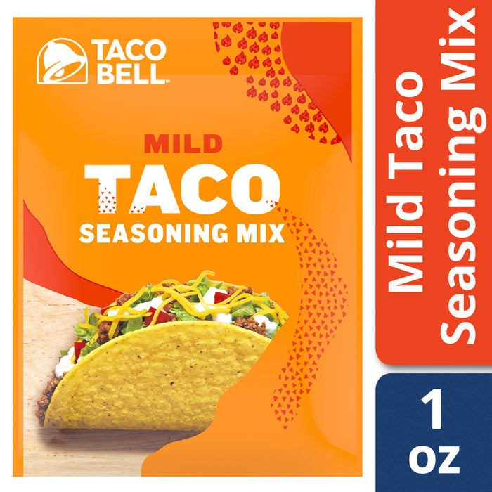 Taco Bell Mild Taco Seasoning Mix, 1 oz Packet