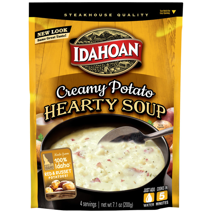 Idahoan Steakhouse Creamy Potato Soup - 1 Packet (7.1-Ounces)