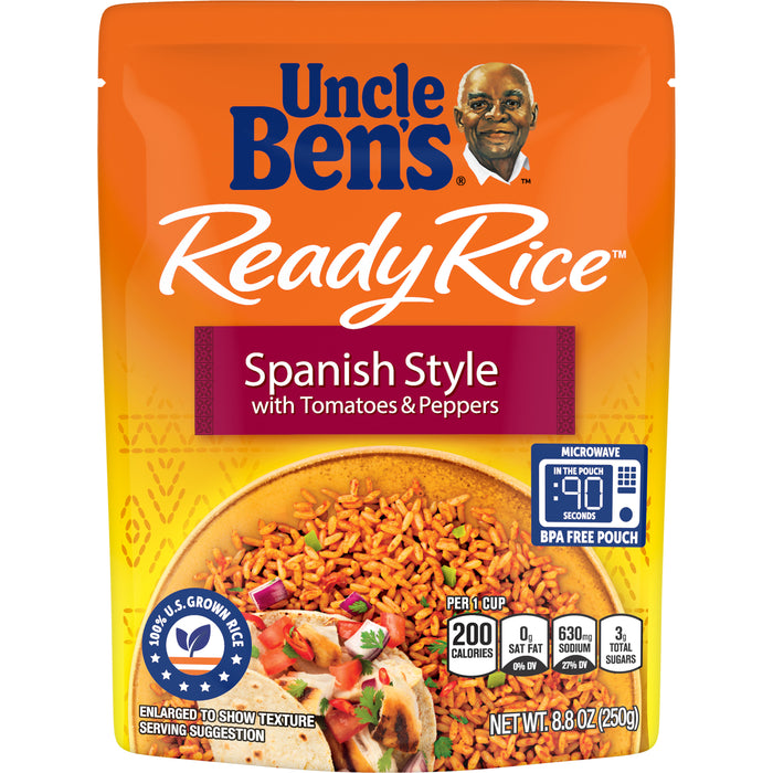 UNCLE BEN'S Ready Rice: Spanish Style, 8.8oz