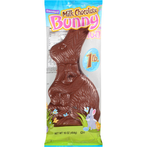 Frankford Milk Chocolate Solid Easter Bunny, 16 Oz.