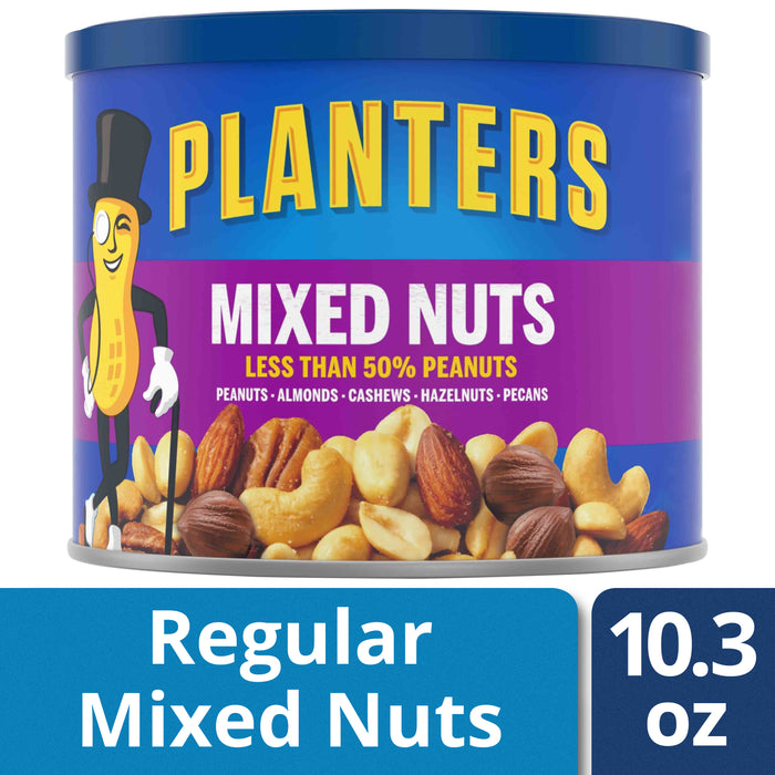 Planters Mixed Nuts, 10.3 oz Canister