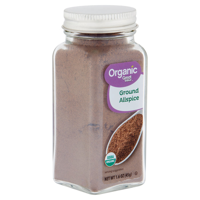 Great Value Organic Ground Allspice, 1.6 oz