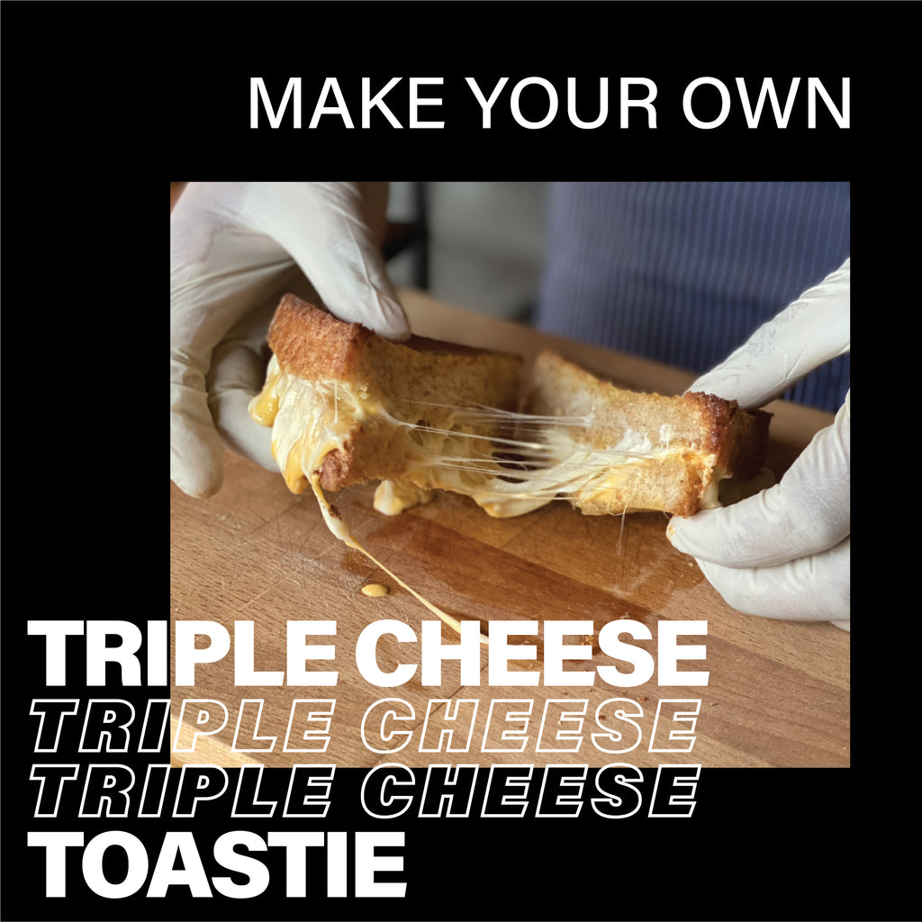 DIY Triple Cheese Toastie