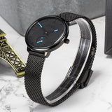 CIVO Ladies Watches Waterproof Quartz Watch Women Ultra-thin Elegant Female Genuine Leather Strap Wristwatch clock Montre Femme