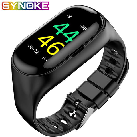 Men Bluetooth Smart Watch Heart Rate Blood Pressure Sleep Monitoring Women Smart Wrist Watch Message Reminder Chronograph Watch