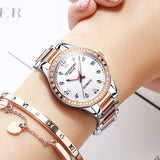 Women Watches Fashion 2019 Geneva Designer Ladies Watch Luxury Brand Diamond Automatic mechanical Rose Gold Gifts For Women