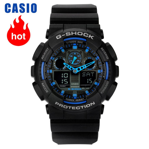 Casio watch G-SHOCK series multifunctional sports men's watch GA-100-1A2