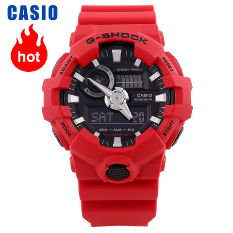 Casio Watch Men's G-SHOCK Sports Waterproof Multi-function Men's Watch GA-700-4A