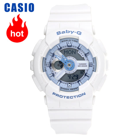 Casio watch Baby-G sports waterproof women's watch BA-110BE-7A