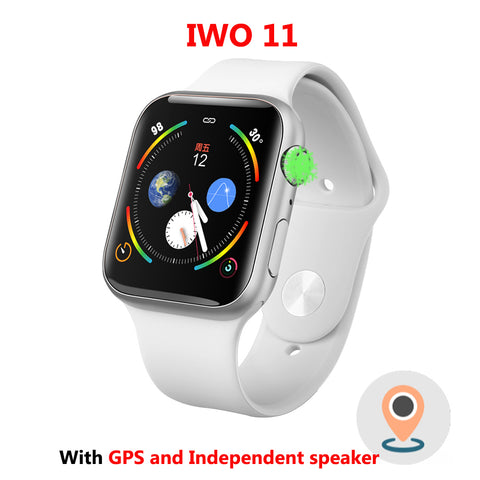 IWO 11 Smart Watch Bluetooth 1:1 Series 4 GPS Inteligente Pulseira SmartWatch Android for IOS Upgrade IWO 10 9 8 7 6 5 Reloj