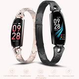 Blood Pressure Heart Rate Monitor Smart Watch Color Screen Sport Fitness Bracelet IP68 Waterproof Women Bracelet For Ios Android