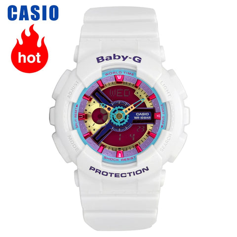 Casio watch trend sports casual ladies watch BA-112-7A