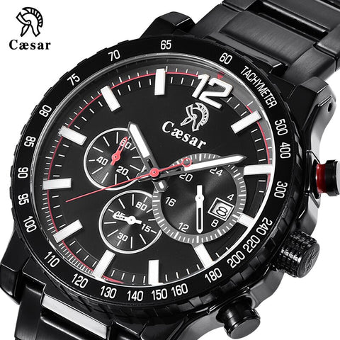 Black Blue Military Quartz Chronograph Waterproof Men Sports Mens Watches Top Brand Luxury Sport Wristwatch Male Watch 2019