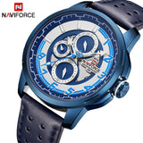 NAVIFORCE Fashion Sports Mens Watches Top Luxury Brand Men's Quartz Date Clock Male Waterproof Wrist Watch Relogio Masculino
