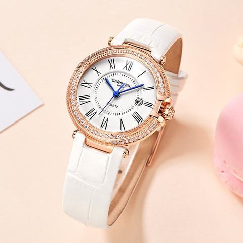 2020 New Women Luxury Brand Watch Simple Quartz Lady Waterproof Wristwatch Female Fashion Casual Watches Clock reloj mujer