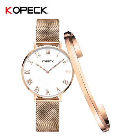 Dial Thickness 6mm Fashion Luxury Ladies Quartz Watch Sapphire Crystal Female Watches Stainless Steel Waterproof 30M Clock Women